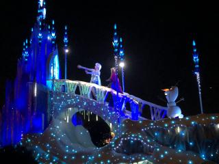 エレクトリカルパレードアナ雪
