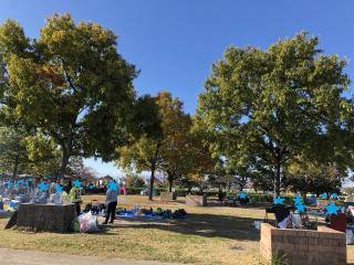 戸田川緑地公園ピクニック広場B区画
